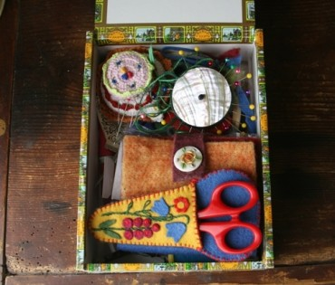 DIY Sewing Box