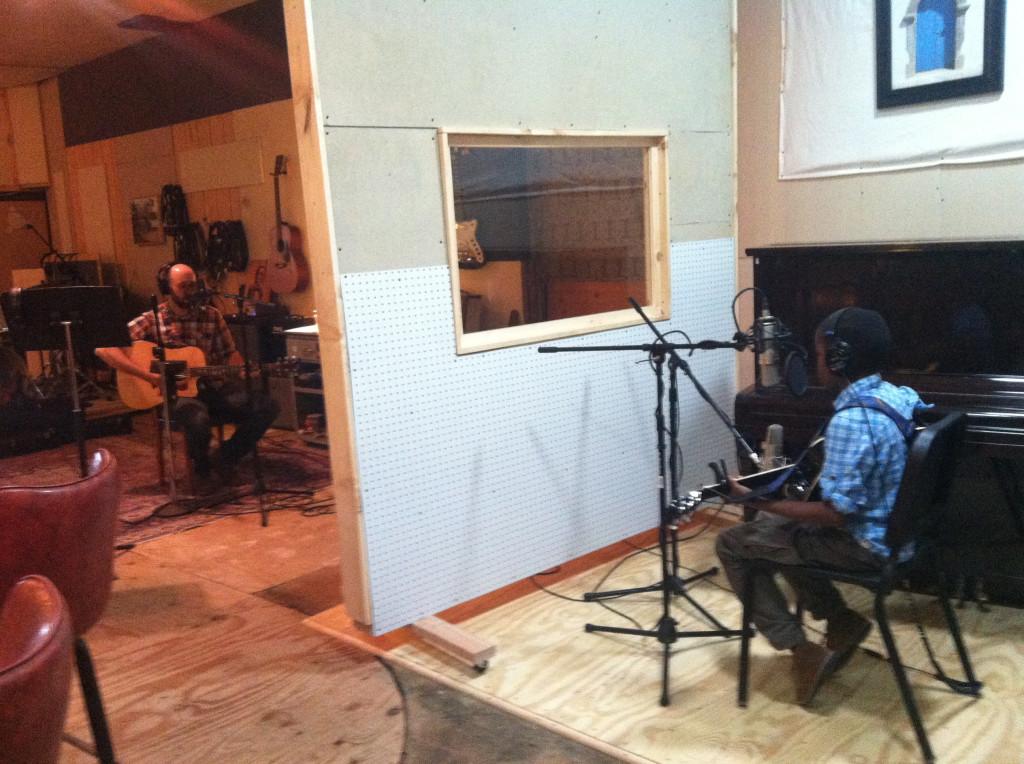 Nick and Ukweli in Studio