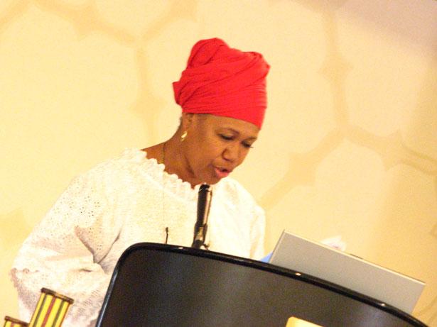 Shafia Monroe, president of the International Center for Traditional Childbearing.