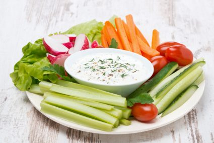Raw Veggies: the Perfect Snack