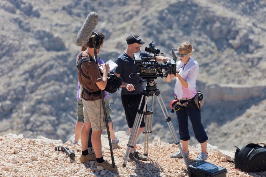 Film Crew at work in the Taurus Mountains