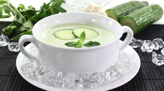 Cool Off with Cucumber Gazpacho